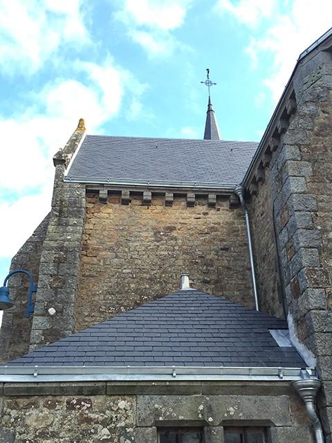 Peltier Charpentier Mayenne 53 Ardoises Sur Église