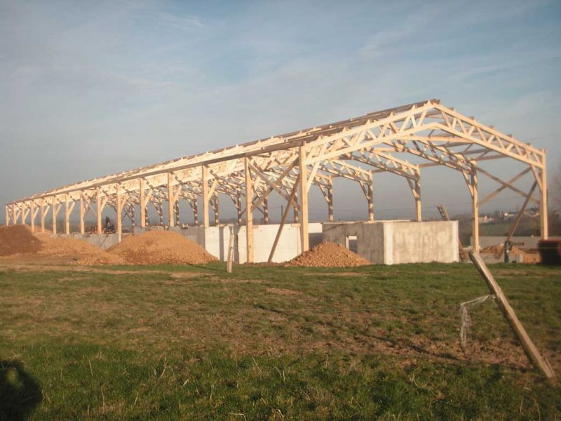 Peltier Charpentier Mayenne 53 Hangar Agricole 02 1