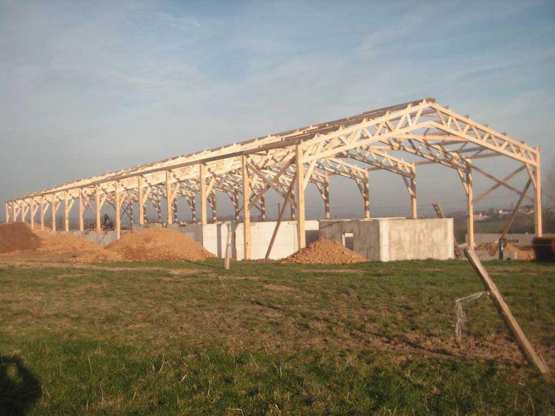 Peltier Charpentier Mayenne 53 Hangar Agricole 02