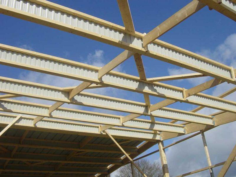 Peltier Charpentier Mayenne 53 Structure Hangar Agricole